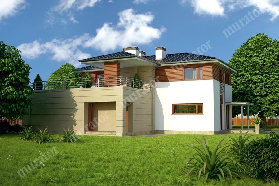 Проект двухэтажного дома - муратор м137а rpm2095 в александр.
